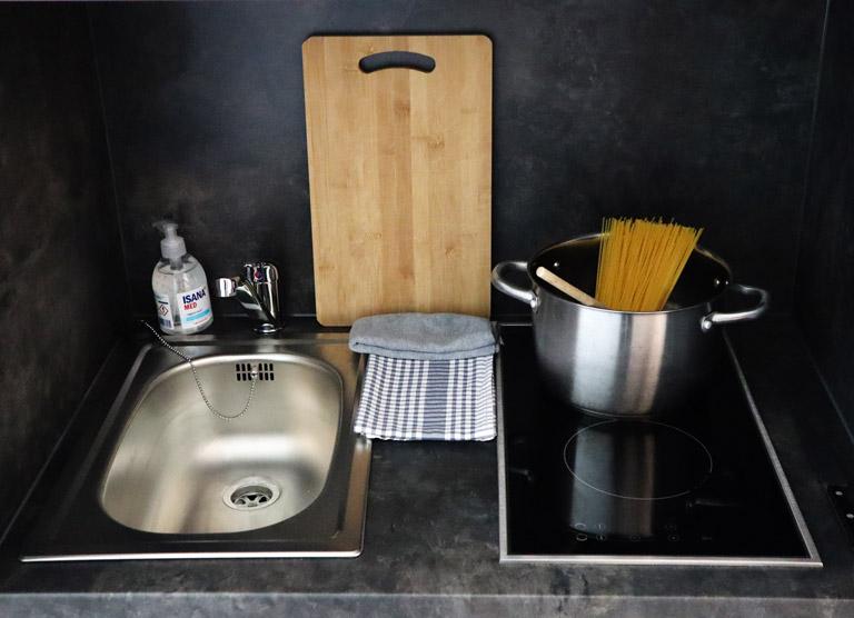 Platz zum Kochen für Dich und Deine Freunde