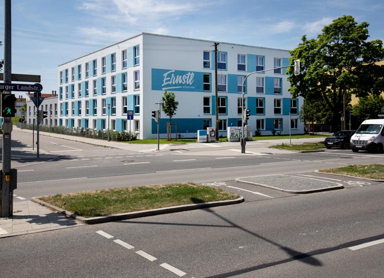 Das Ernstl ist ein Wohnheim für Studierende und Auszubildende in München Trudering