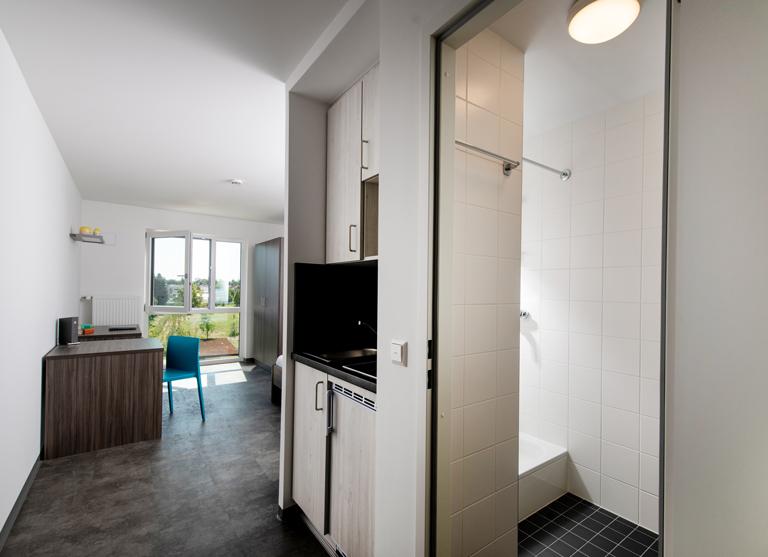 Die intelligent geschnittenen Apartments bieten viel Platz zum Lernen und Leben